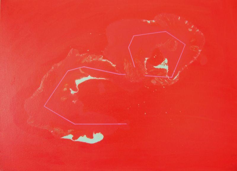 2008. sanstitredragoncordehuilesurtoile70x50cm2008