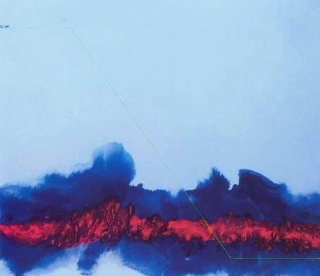 2003. sanstitrehuilesurtoile100x80cm20032
