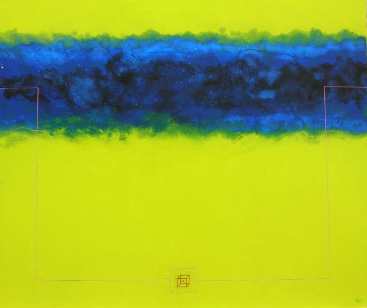 2004. sanstitrehuilesurtoile120x100cm2004