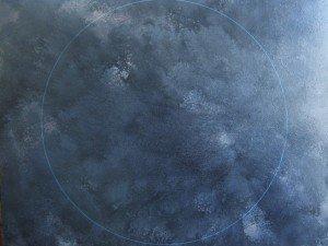 Sans titre, huile sur toile, 130x80 cm